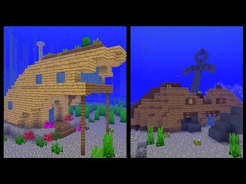 7 Minecraft SHIPWRECK House Ideas!