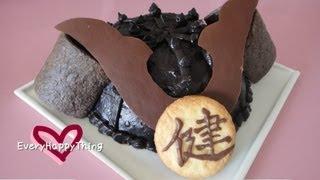 (*´ー`*) Samurai Helmet Cake かぶとケーキの作り方 Children's Day Recipe 子供の日レシピ thumbnail