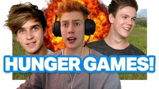 THE HUNGER GAMES VIDEO GAME ft JASPAR!