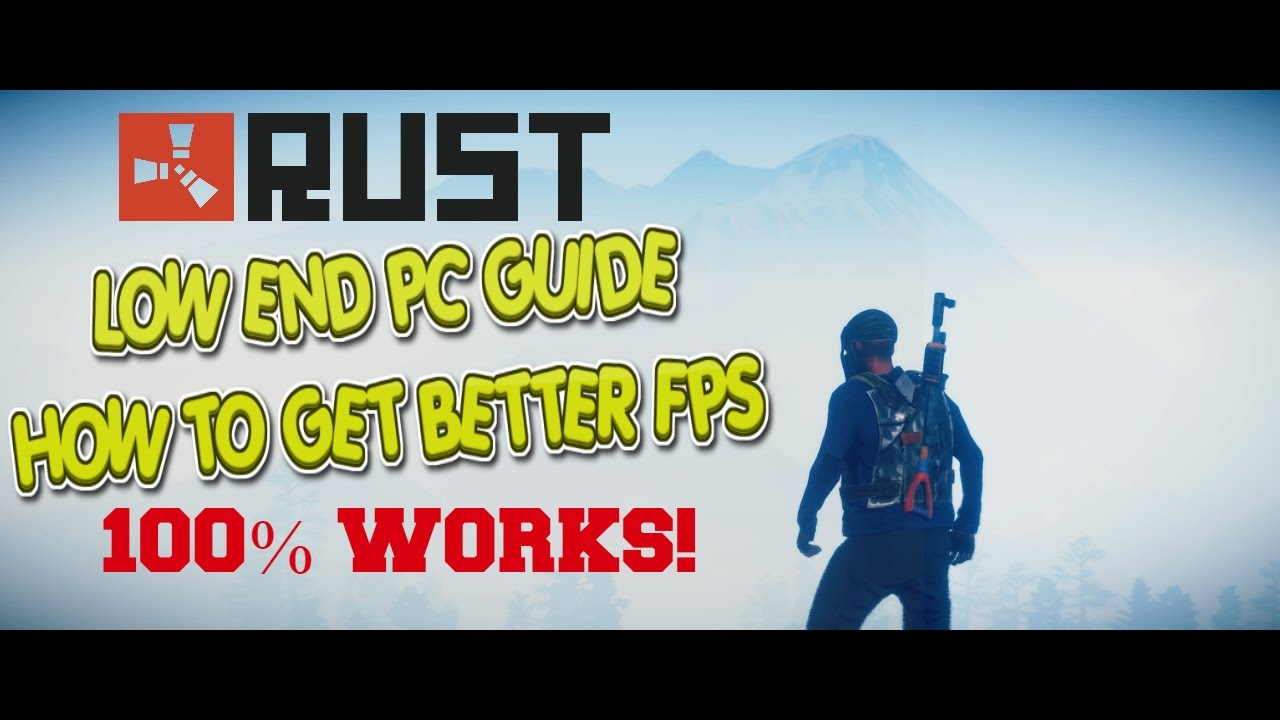 How to get rust to not lag