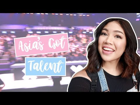 Asia's Got Talent (How it's like to Audition!) | Janina Vela
