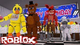 Freddy Fazbear Pizzeria Simulator FNAF 6 In Roblox?! Roblox FNAF Tycoon
