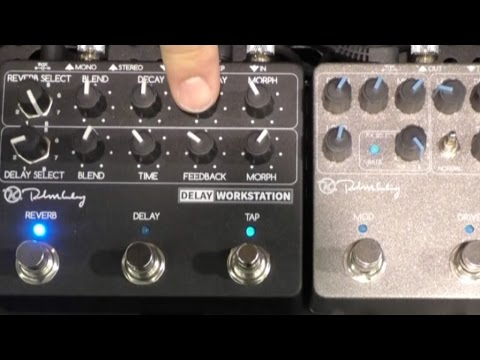 [NAMM] Keeley Electronics Workstation Pedals