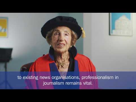 Hella Pick CBE - University of Sussex honorary graduate 2018