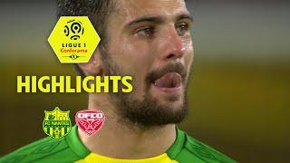 Fc nantes - dijon fco ( 1-1 ) - highlights - (fcn - dfco) / 2017-18