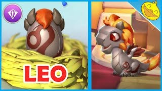 Legendary LEO DRAGON Hatching + COWPOKE DRAGON Unlocking! - DML #1209