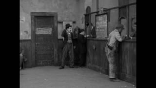 """Charlie Chaplin at the Employment Office (clip from """"A Dog's Life"""")"""