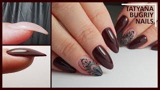 Поднятие растущего вниз ногтя/ Шикарные БЛИКИ/ Коррекция Ногтей АкриГелем