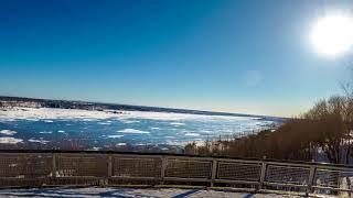 Québec Saint Lawrence River Timelapse