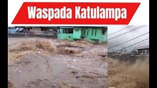 Bendungan Katulampa Hampir Jebol, Jakarta Siaga 1 Banjir !