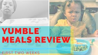 Yumble Kid Meal Prep Review Part 1 Mom Vlog