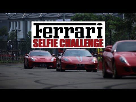 Ferrari Selfie Challenge ( Ferrari Festival of Speed Jakarta )