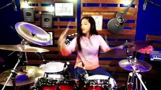 Lagi Syantik - Siti Badriah | DRUM COVER by Nur Amira Syahira