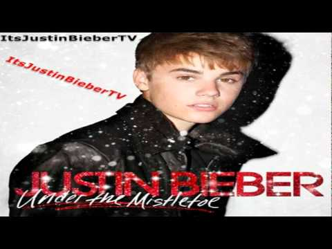 justin bieber mistletoe new song 2011 under the mistletoe album - Justin Bieber Christmas Album