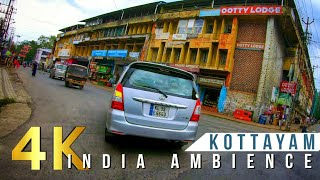Driving In Kottayam City On A Sunday Afternoon  Ndian City Ambience Kerala Virtual Tour 2021
