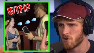 LOGAN PAUL GOT SPIT ON AT A COLLEGE CAMPUS! (DETAILS)