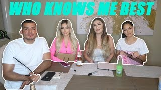 WHO KNOWS ME BEST FT MURILLOTWINS (HILARIOUS)