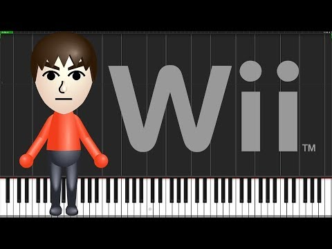 Mii Channel Theme [Piano Tutorial] (Synthesia) // Anifuse