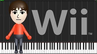 Mii Channel Theme Piano Tutorial Synthesia  Anifuse