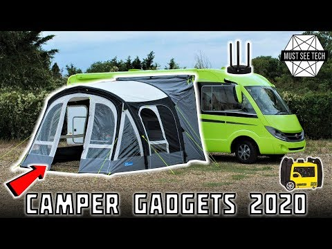 Top 9 Accessories To Take Your Camper To Another Level (Best RV Gadgets)