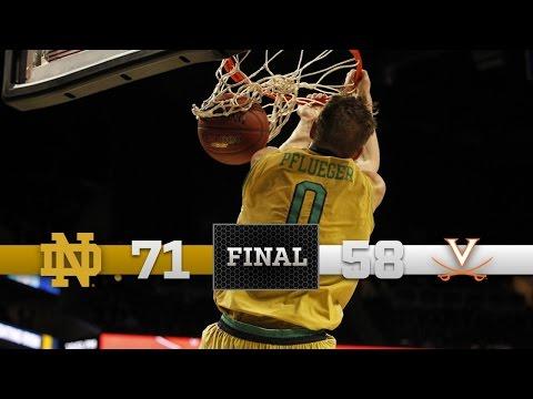 Highlights - Notre Dame vs. Virginia - ACC Quarterfinals
