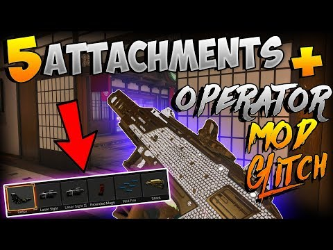 BO4 GLITCHES: SUPER CLASS GLITCH! MAX ATTACHMENTS + OPERATOR MOD ON ANY WEAPON! (Patched)
