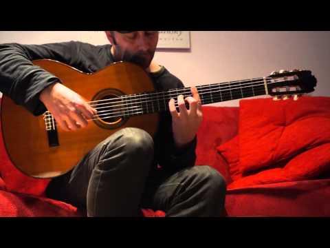 Manuel Contreras 1988  -Guitar Sound Testing-