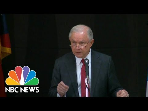 Jeff Sessions Announces New Department Of Justice Unit to Combat Opioid Fraud | NBC News