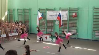 Карлова Анна 13.04.17 Показательные выступления по художествен гимнастике Крым Симферополь