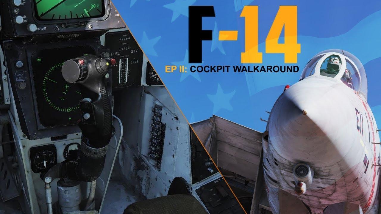 Cockpit Overview — Heatblur F-14 Tomcat 1 0 documentation
