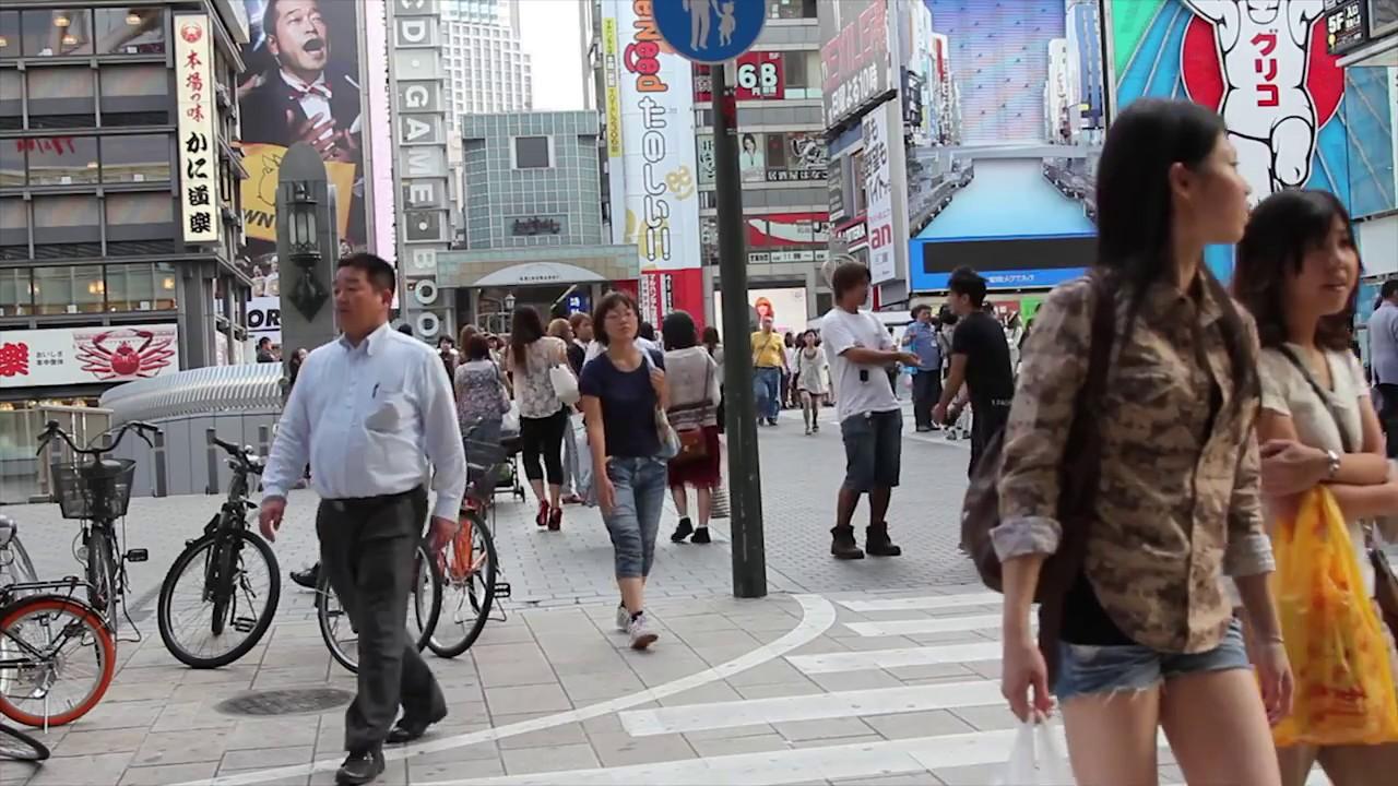 Candid Japan Look At People Of Osaka Hd Japan - Youtube-9432