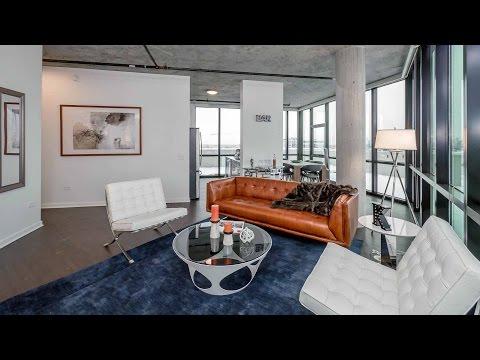 Tour a loft-style 3-bedroom Fulton River District penthouse