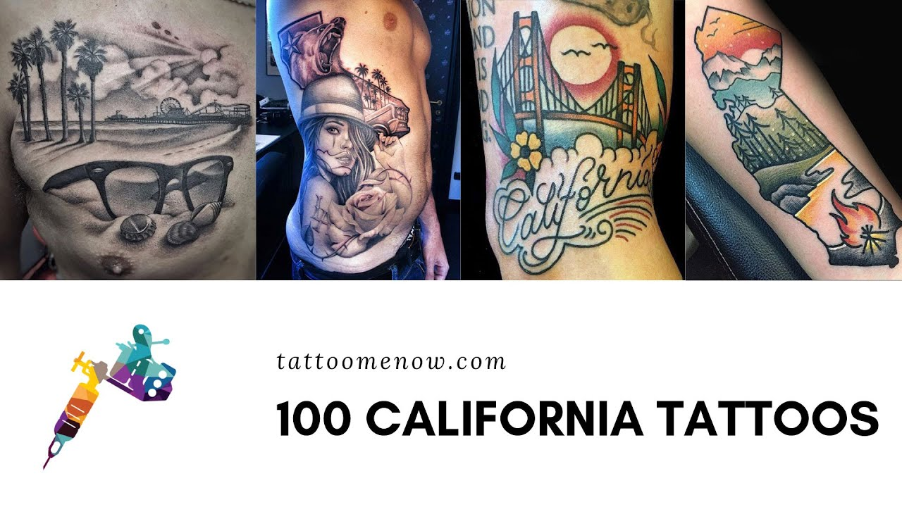150 Amazing California Tattoo Designs Ideas And Meanings