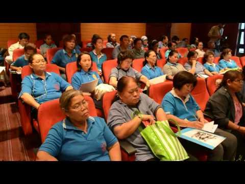 อสม. เมืองพัทยา จัดประชุมวาระการประชุมครั้งที่ 6/2557