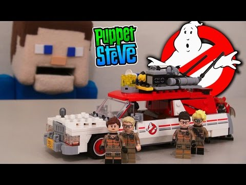 GhostBusters Movie LEGO 2016 Ecto 1 & 2 Vehicle Building Set, 75828 Slimer 2016 Minecraft Unboxing: GhostBusters 2016 Movie LEGO Ecto 1 & 2 Vehicle Building Set, 75828 Slimer 2016 Minecraft Unboxing  Fnaf Phantom Foxy Plush Contest!: https://gleam.io/4oRp8/phantom-foxy-funko-plushy-contest Make sure to subscribe and comment to win! (Congrats to our last contest winner: Piper!)  PLEASE LIKE AND SHARE!!  For more episodes: https://www.youtube.com/playlist?list=PLaUNslPBsli5rgHsg97vhoH0_0SiWFAnS  SUBSCRIBE NOW PUPPET STEVE-RS! http://www.youtube.com/user/PuppetSteve1?sub_confirmation=1