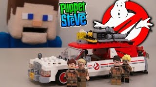 GhostBusters Movie LEGO 2016 Ecto 1 & 2 Vehicle Building Set, 75828 Slimer 2016 Minecraft Unboxing