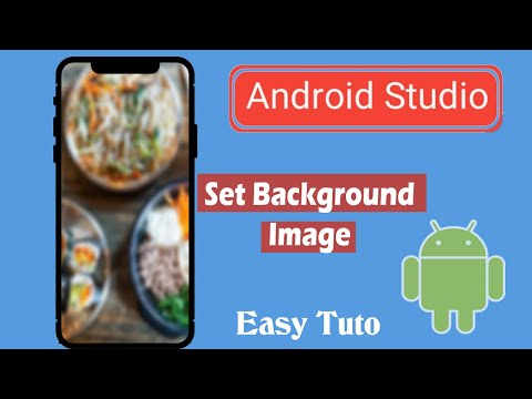 How To Add Background Images In Application | Android Studio | Beginners Tutorial