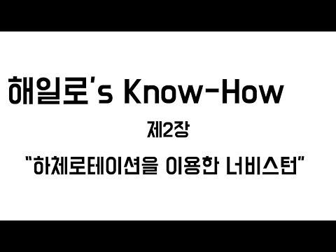 2019 해일로's Know How 너비스턴(하체로테이션이용) 스노우보드 강좌
