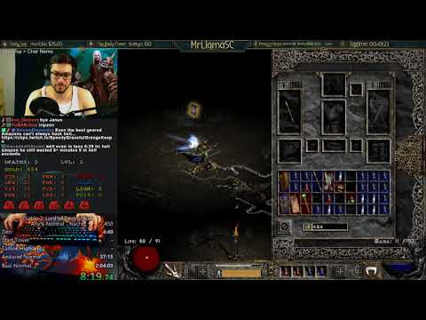WORLD RECORD - NECRO ANY% SC - Diablo 2 Speedrunning!!