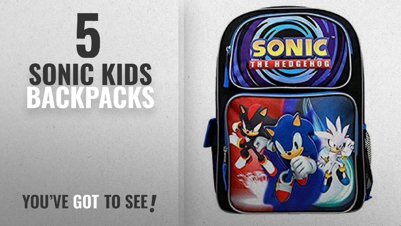 8fe0b4e623c2 Best Sonic Kids Backpacks [2018]: Sonic the Hedgehog Blue 16