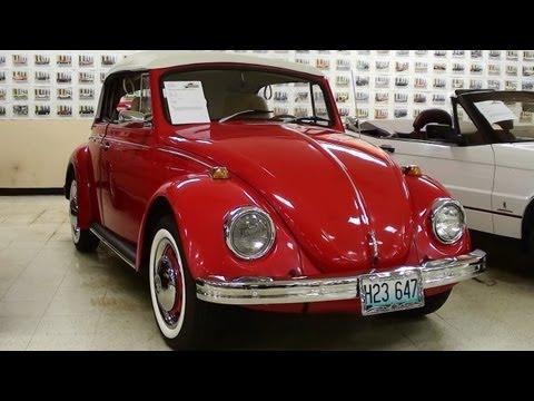 1969 Volkswagen Beetle Convertible 1600cc Single Port Four Speed VW