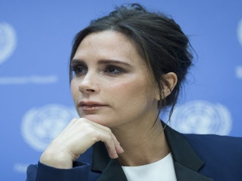 Victoria Beckham Speaks at the United Nations - YouTube
