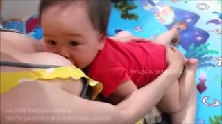 Mẹ cho con bú CHIỀU & trước khi đi ngủ NGÀY 295 video hướng dẫn