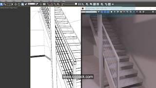 Schwarz und weiß-rendering in 3dsMax und VRay