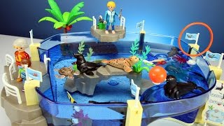 Playmobil Family Fun Aquarium with Sea Animals Playset Toys For Kids