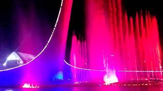 Олимпийский парк. Шоу поющих фонтанов. Кazka. Плакала.