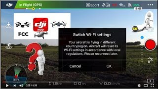 CAMBIO DE CE A FCC DJI SPARK MAVIC AIR PRO INFORMATE en español