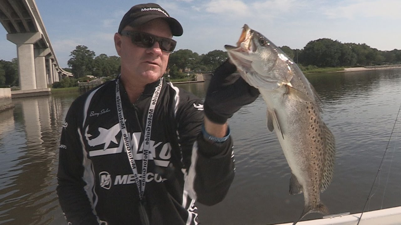 FOX Sports Outdoors SouthWEST #38 - 2016 Little River Inlet, NC Speckled  Trout