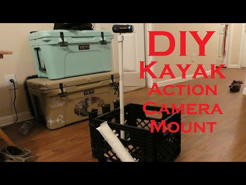 EASY DIY Kayak Fishing Camera Mount