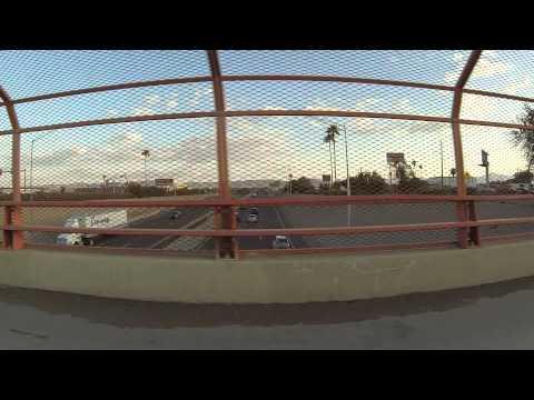 Gila Bend to Mesa, AZ, Passenger View, 24 Apr 15, Buckeye, Avondale, Tolleson, Phoenix, Tempe